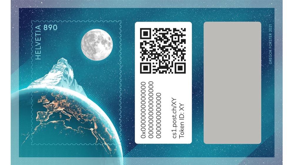 Swiss crypto stamp